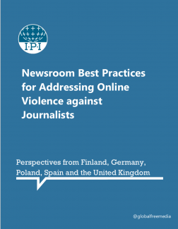 Newsroom Best Practices for Addressing Online Violence against Journalists